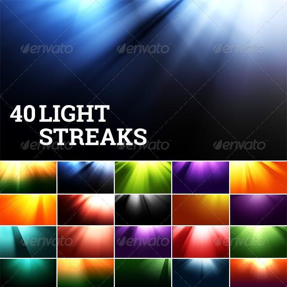Light Streak Backgrounds