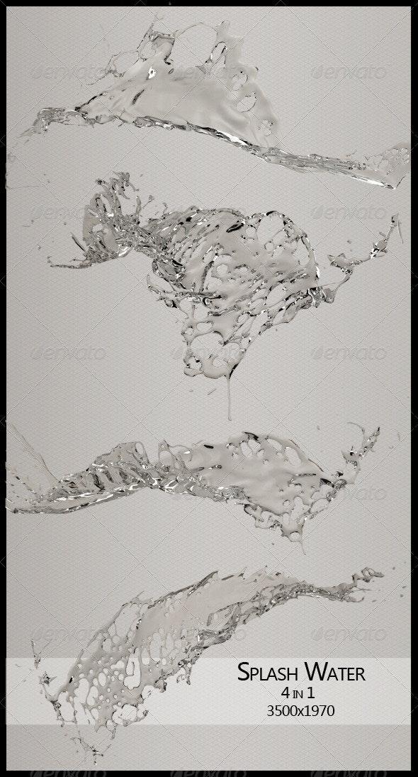 Water Splash - 3D Renders Graphics