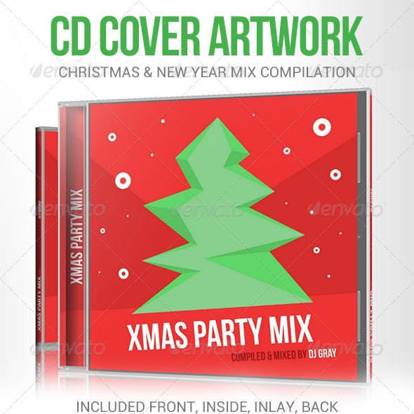 Xmas Party Mix CD Cover Artwork