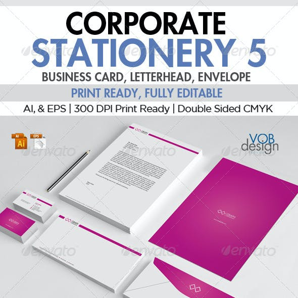 Corporate Stationery 5