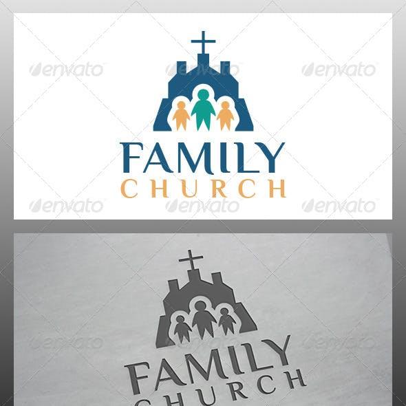 Church Family Logo Template