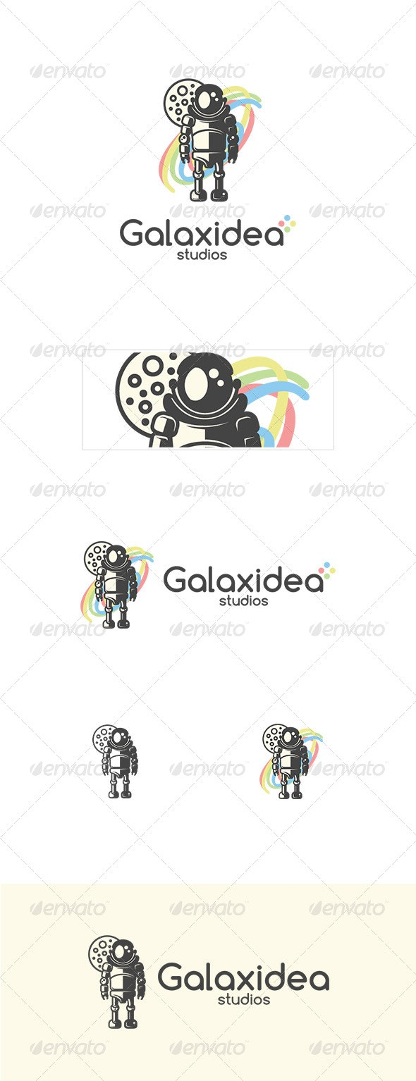 Galaxidea Logo Template - Vector Abstract