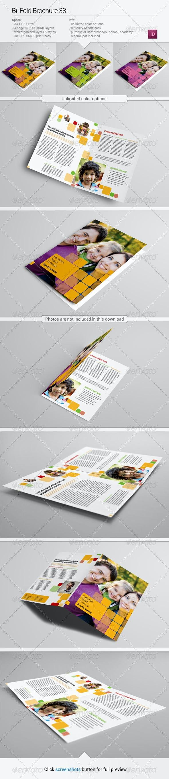 Bi-Fold Brochure 38 - Informational Brochures
