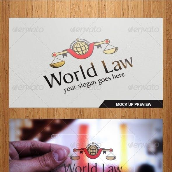 World Law Logo