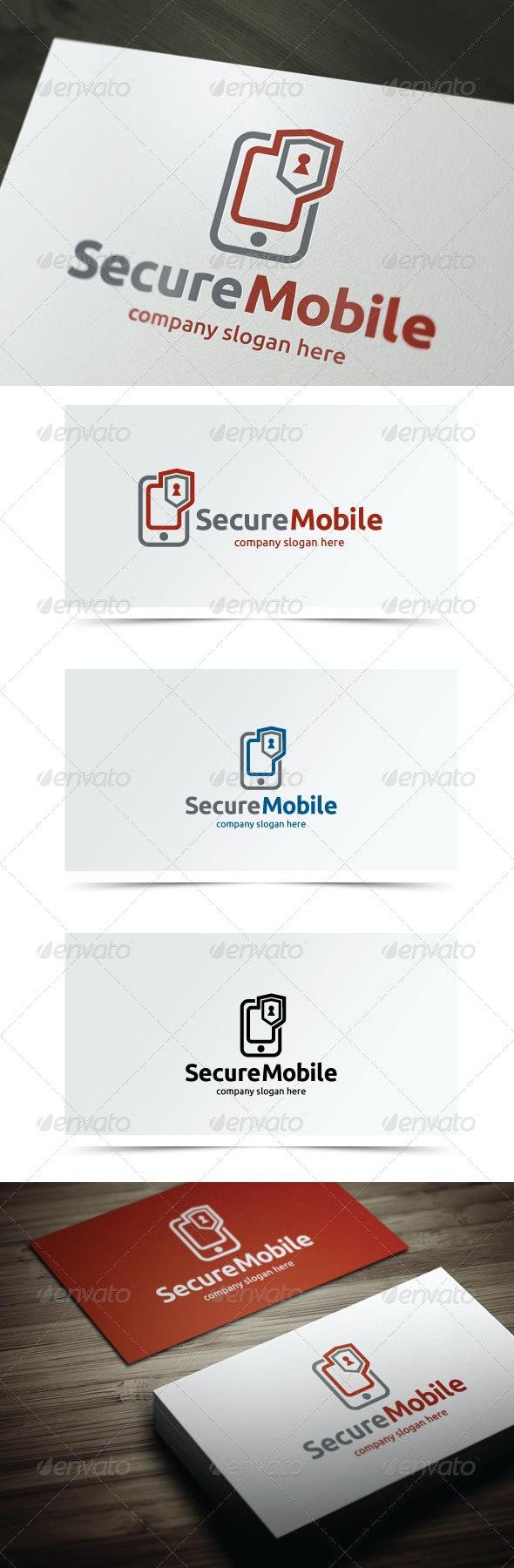 Secure Mobile - Symbols Logo Templates
