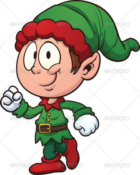 Christmas Elf.Christmas Elf