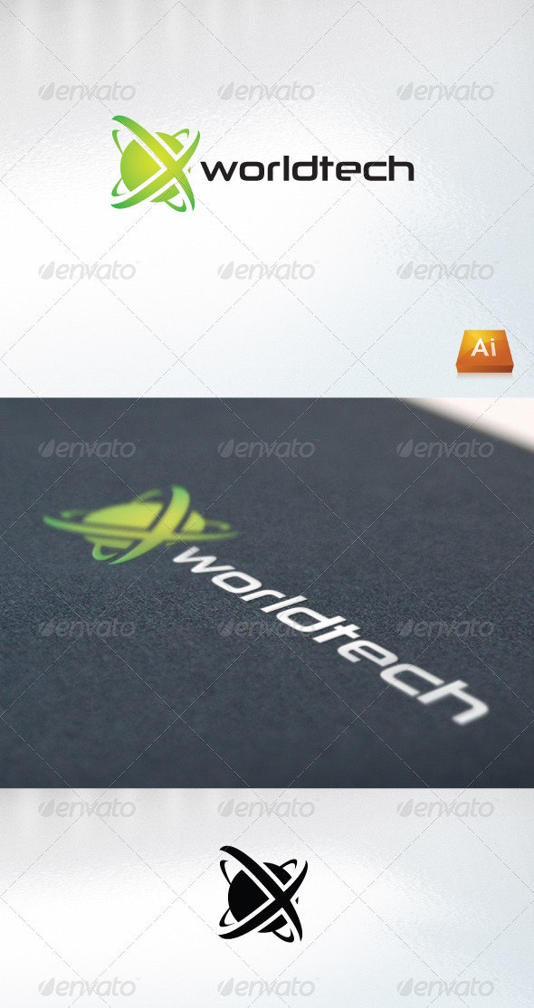 Worldtech - Abstract Logo Templates