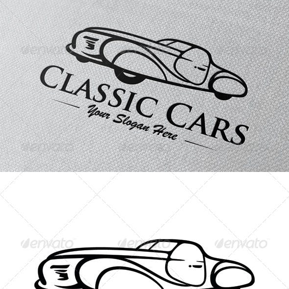Classic Cars Logo Template