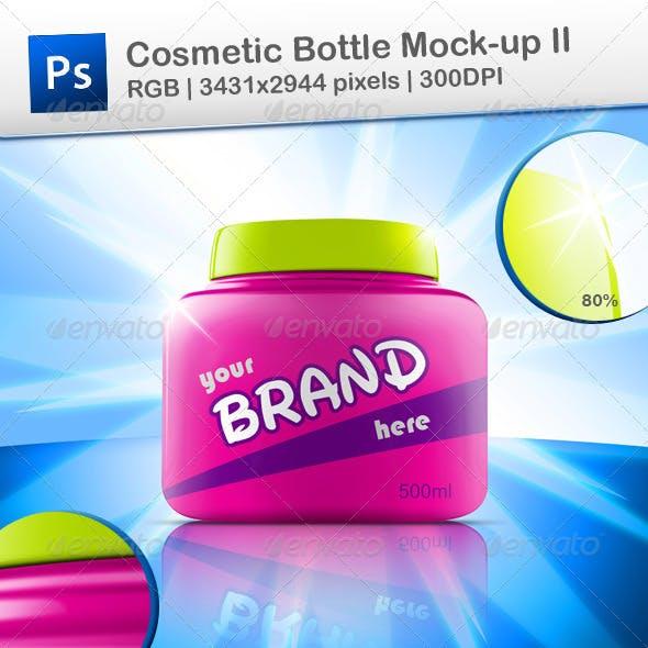 Cosmetic Bottle Mock-up II