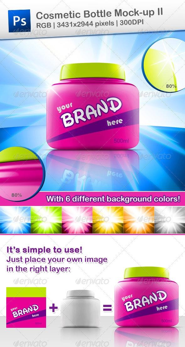 Cosmetic Bottle Mock-up II - Beauty Packaging