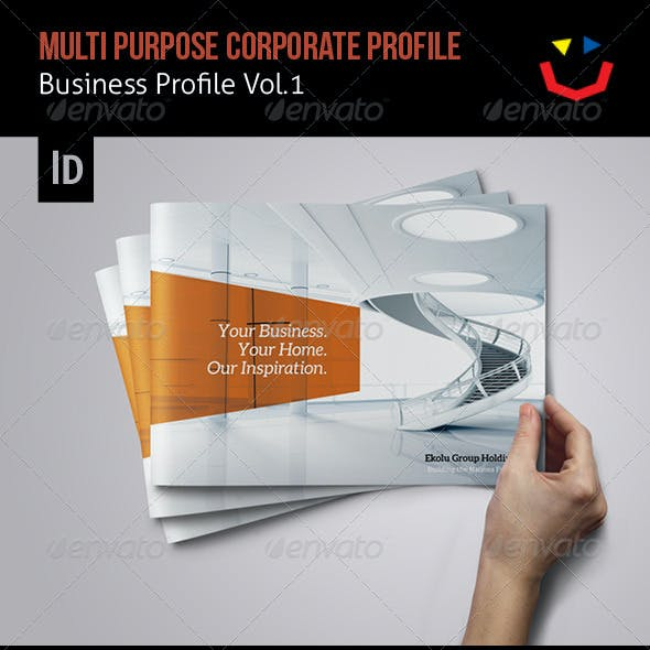 Corporate Business Profile Vol.1