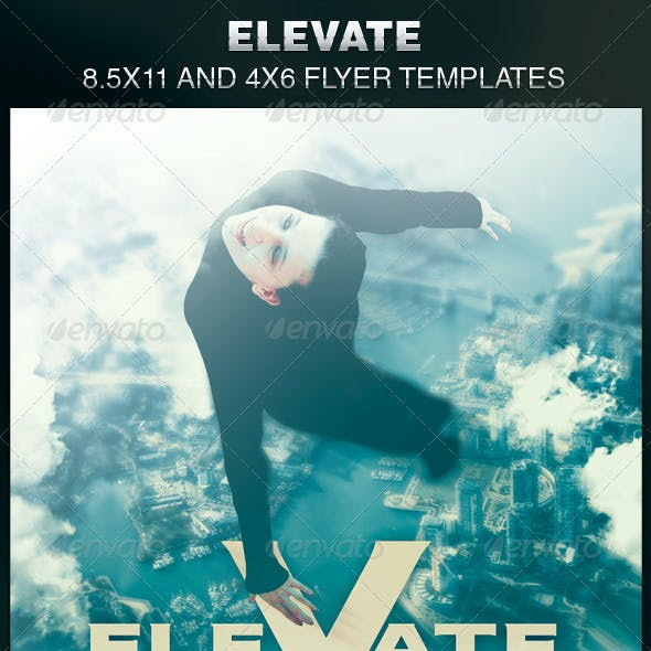 Elevate Church Flyer Template