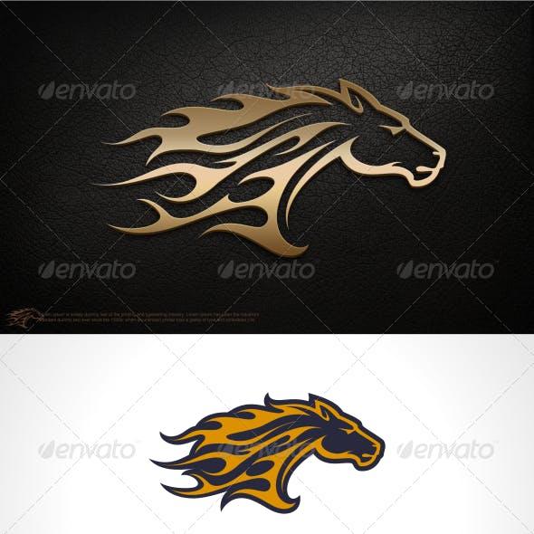 Fire Horse Logo Template