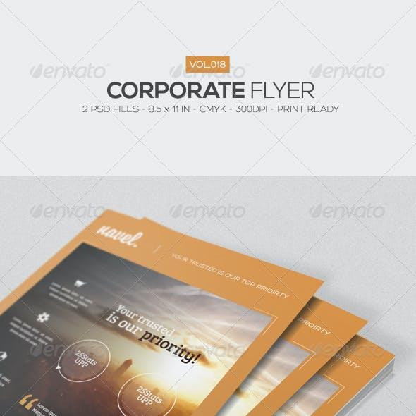 Corporate Flyer Vol.18