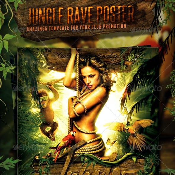 Jungle Rave Poster