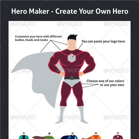 Hero Maker - Create Your Own Hero