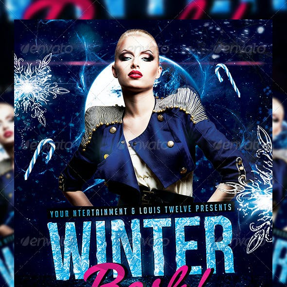Winter Bash 2   Flyer + FB Cover