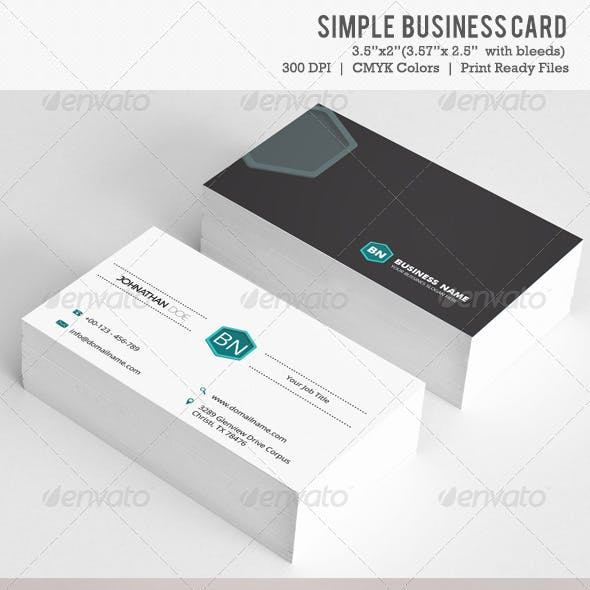 Simple Business Card Vol-03