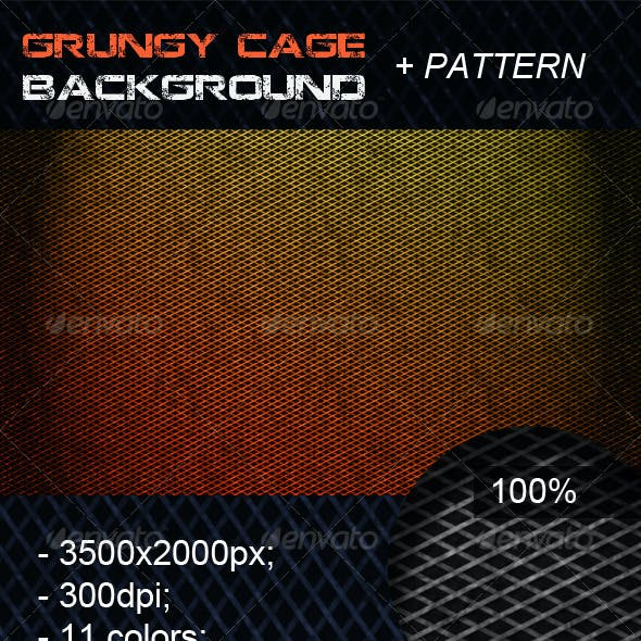 Grungy Cage Background