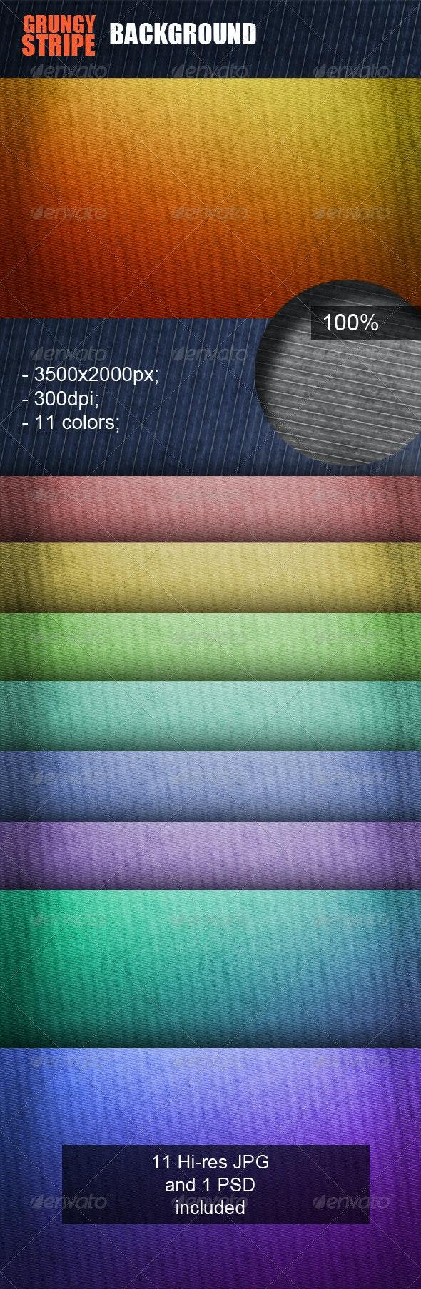 Grungy Stripe Background - Patterns Backgrounds
