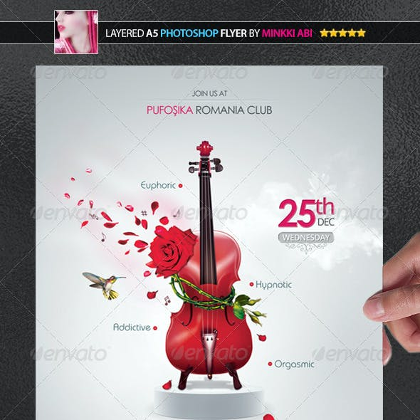 Music Aroma Poster/Flyer