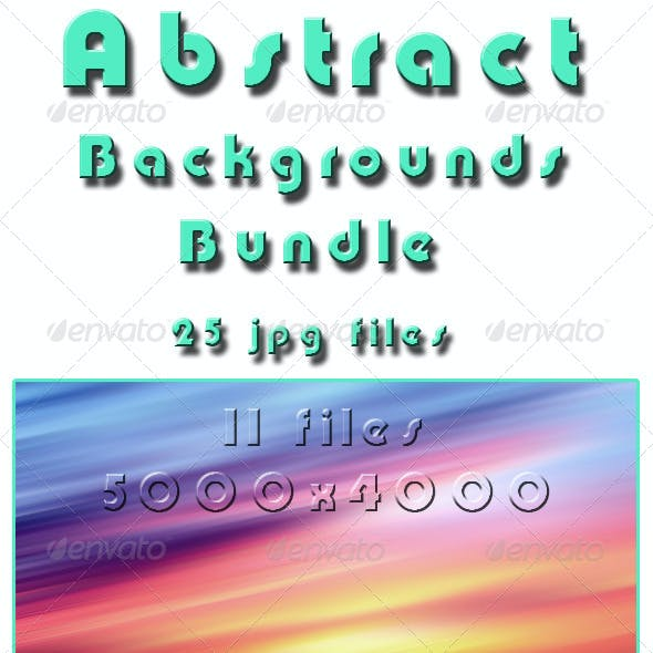 Abstract Backgrounds Bundle