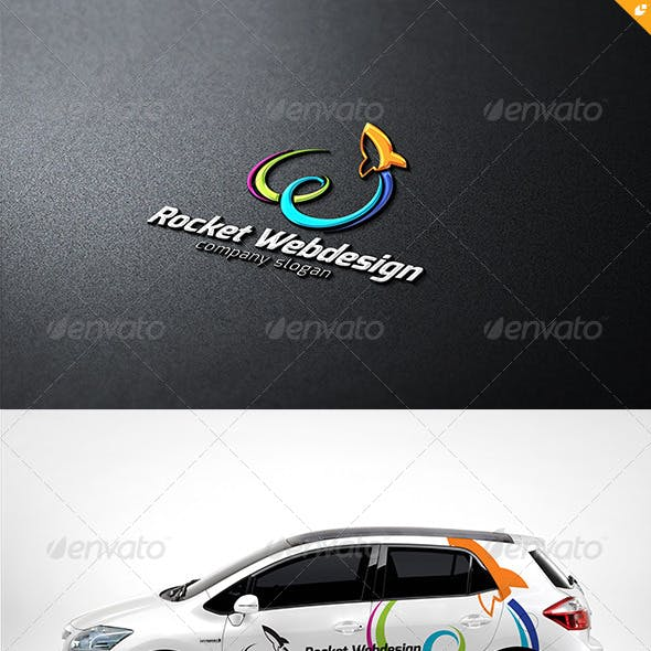 Rocket Web Design Logo