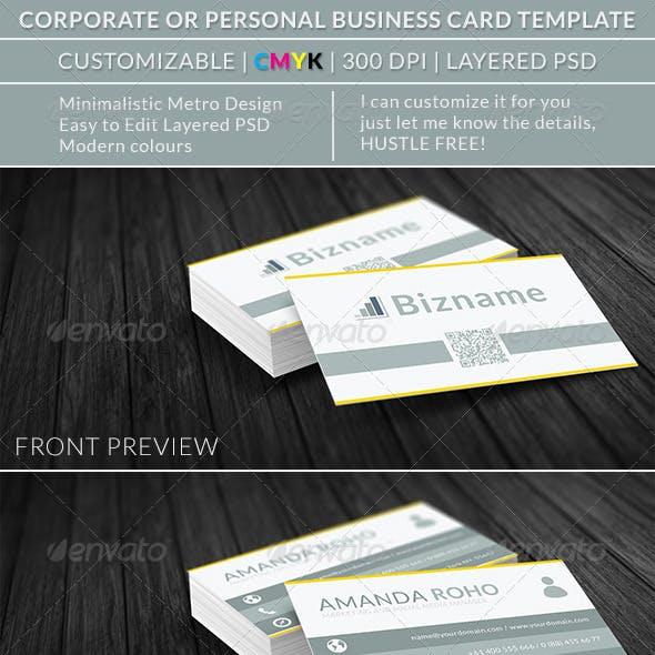 Corporate Business Card vol. 023