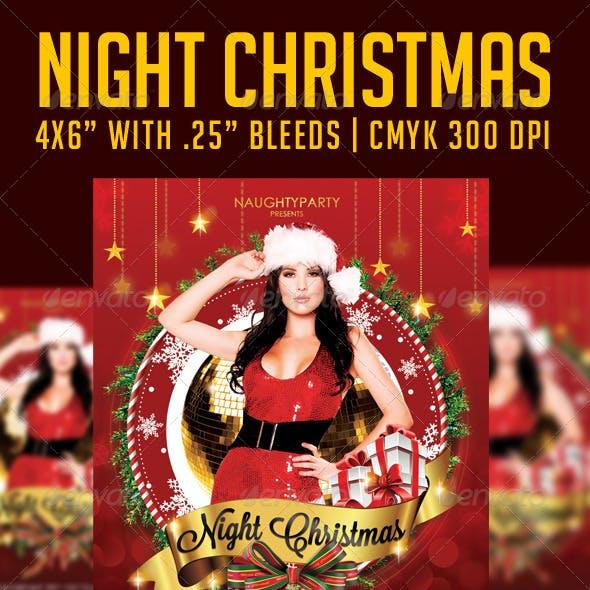 Night Christmas Flyer