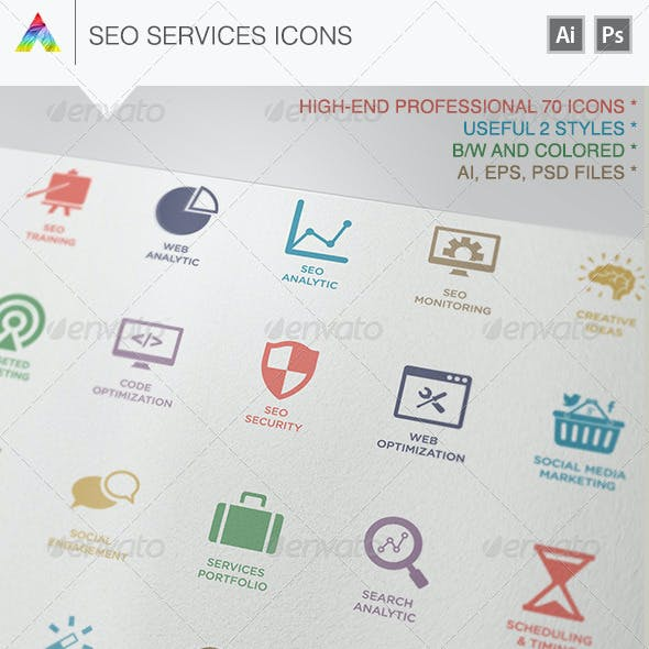 SEO Services Icons