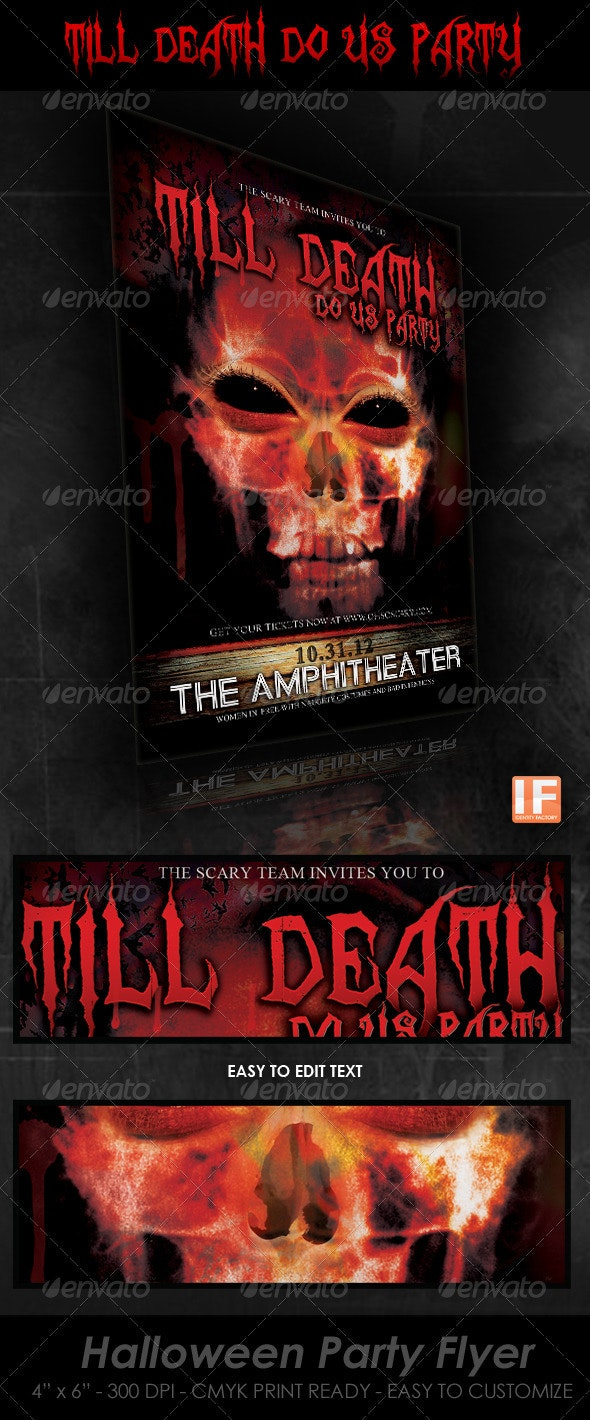Till Death do Us Party - Halloween Party - Clubs & Parties Events