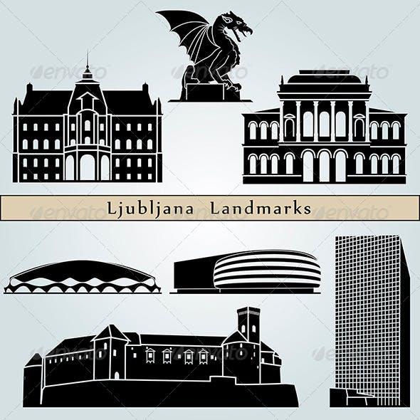Ljubljana Landmarks and Monuments