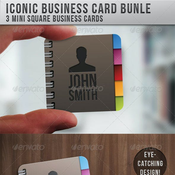Iconic Business Card Bundle