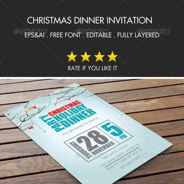 Christmas Party Invitation 3