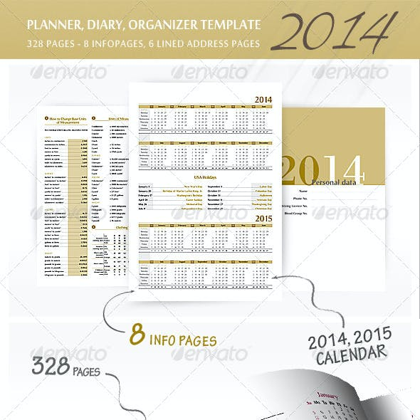 Planner-Diary-Organizer 2014 v2