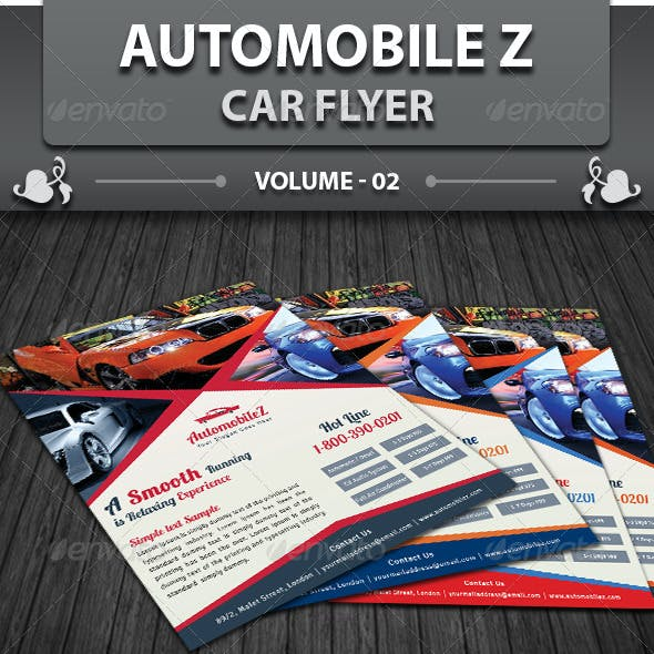 Automobile Business Flyer | Volume 2