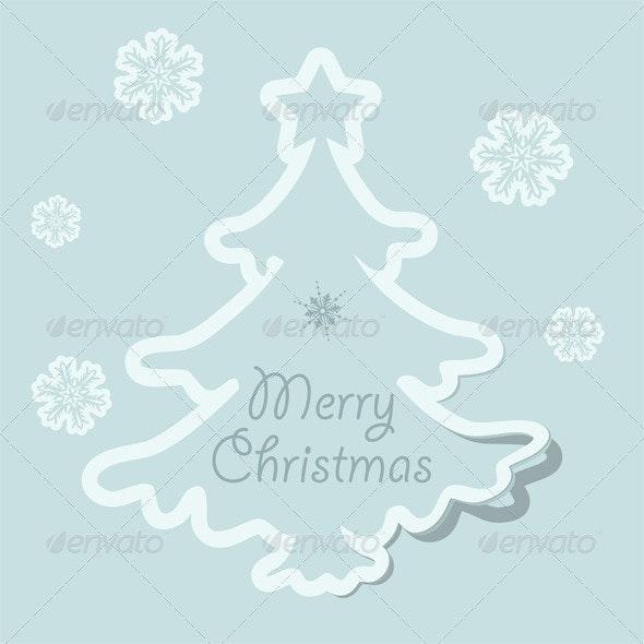 Christmas sticker - Christmas Seasons/Holidays