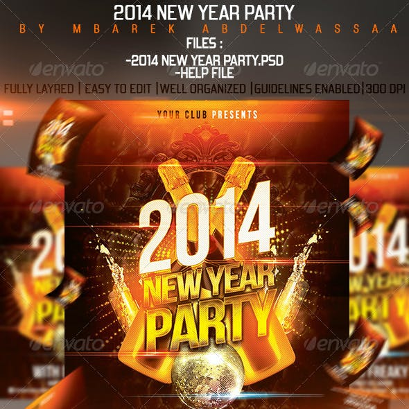 2014 New Year Flyer