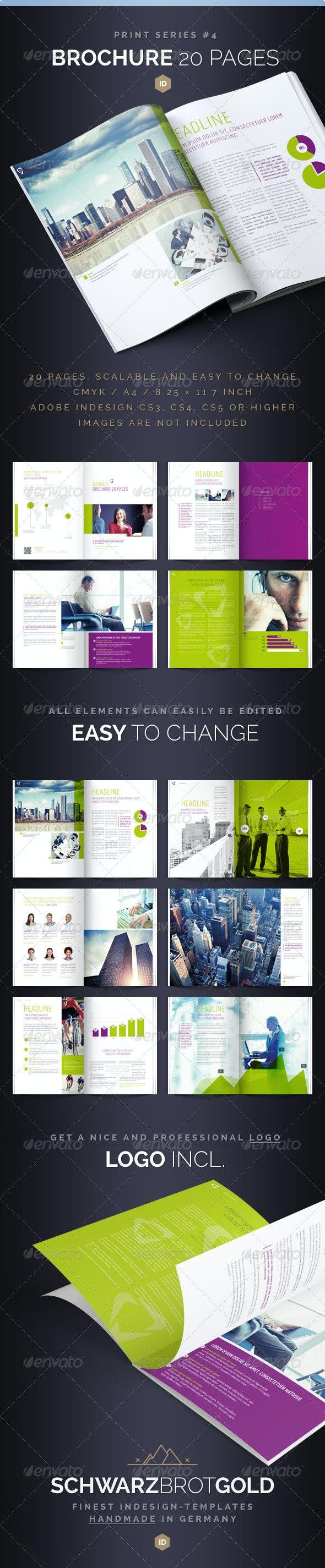 Brochure 20 Pages Series 4 - Corporate Brochures