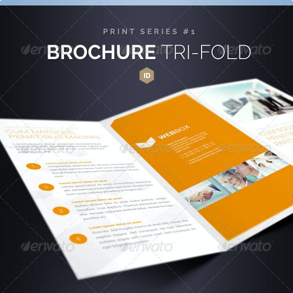 Brochure Tri-Fold DIN long Series 1
