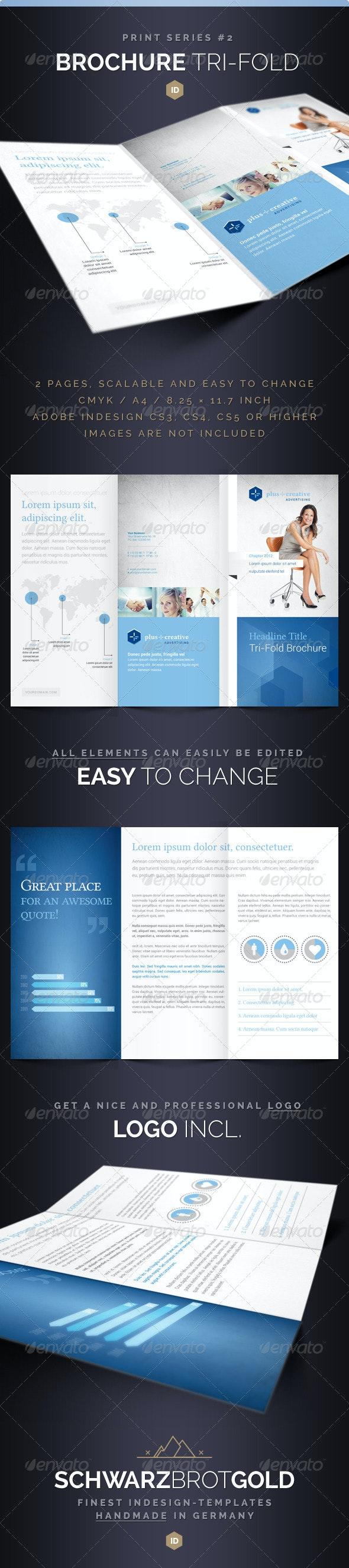 Brochure Tri-Fold DIN long Series 2 - Corporate Brochures