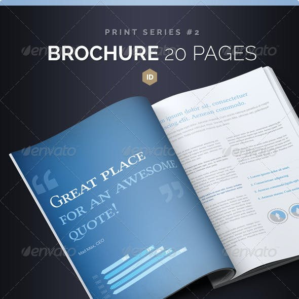 Brochure 20 Pages Series 2