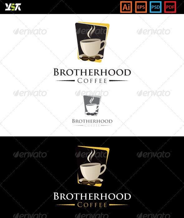 Brotherhood Coffee - Food Logo Templates