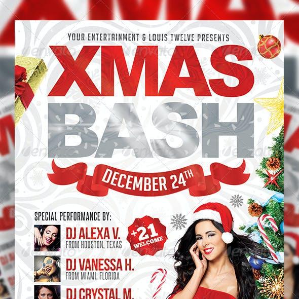 Xmas Bash 2   Flyer + FB Cover