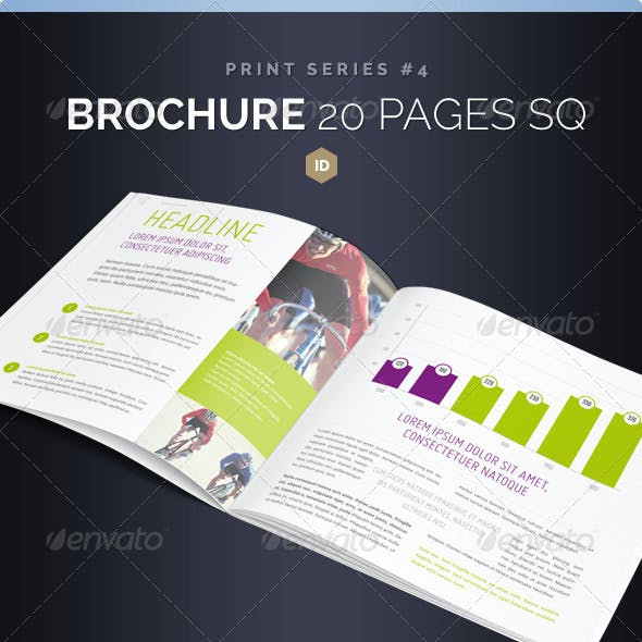 Brochure Square 20 Pages Series 4