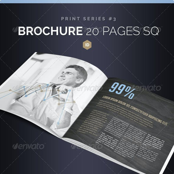Brochure Square 20 Pages Series 3