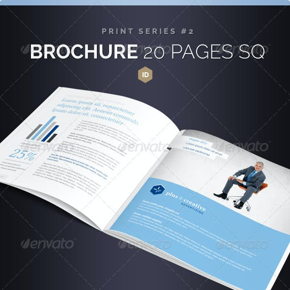 Brochure Square 20 Pages Series 2