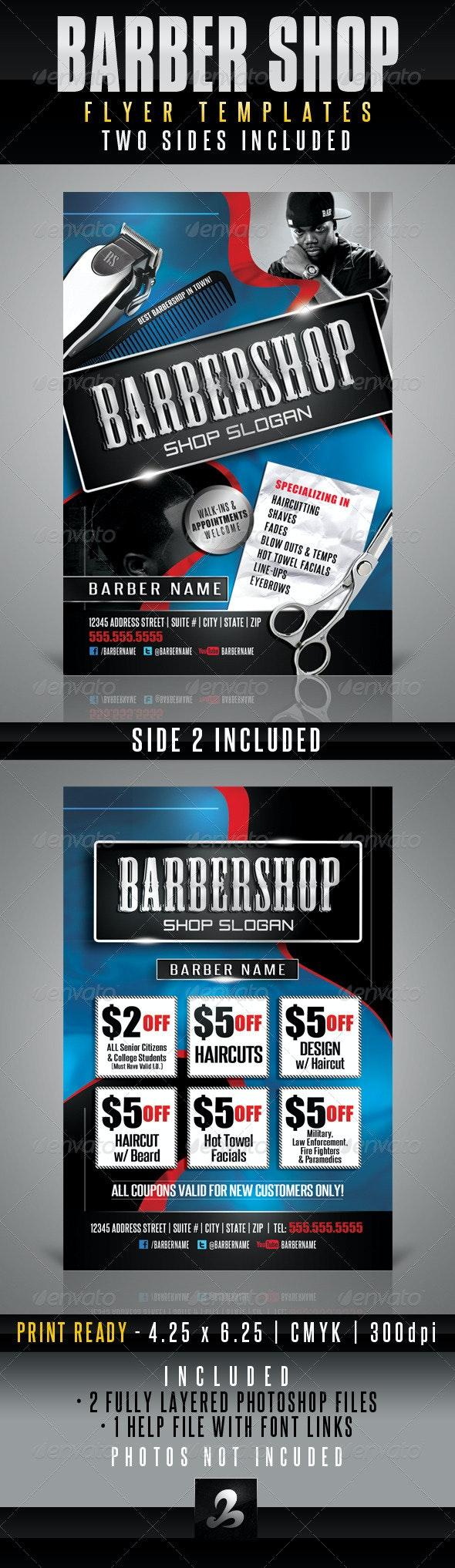 Barbershop Flyer Templates - Corporate Flyers