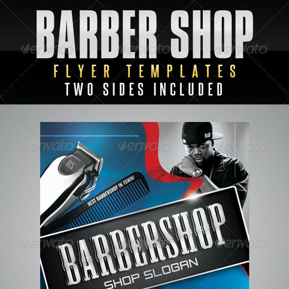 Barbershop Flyer Templates