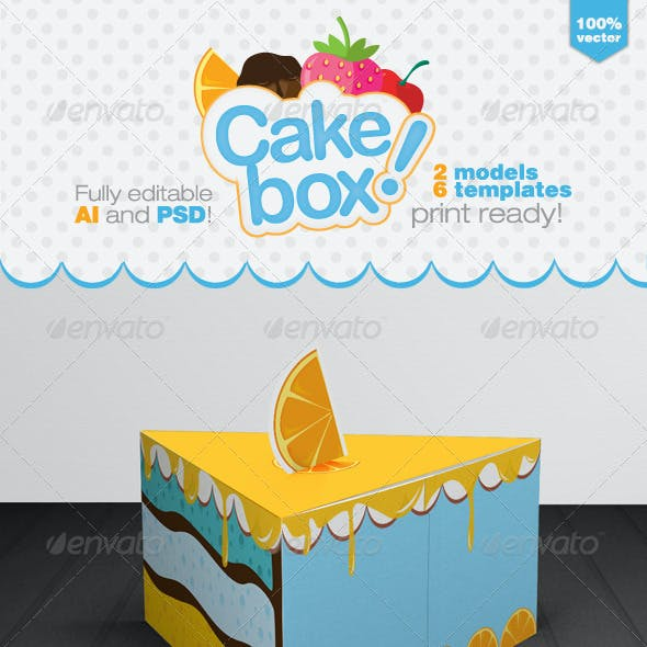 Cake Packaging Gift Box